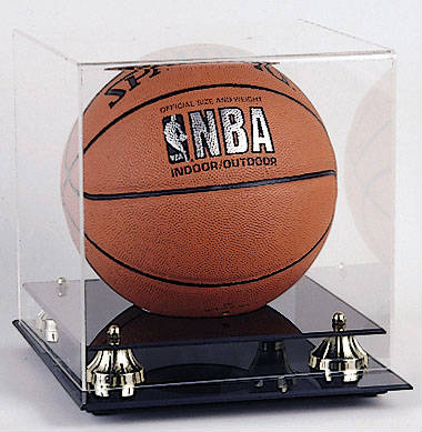 Basketball Display Case Cube