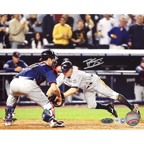 Brett Gardner Autographed  Inside The Park Home Run 8x10 Photograph