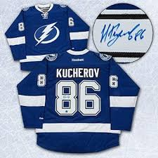 Official Tampa Bay Lightning Jersey autographed by Nikita Kucherov 2c049099b