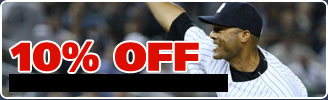 10 percent off sports collectibles
